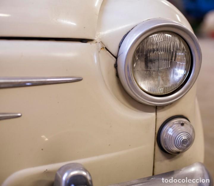Coches: EXCELENTE SEAT 600 D DE 1968. TODO ORIGINAL, NUNCA RESTAURADO,LEER MÁS ... - Foto 5 - 131485362