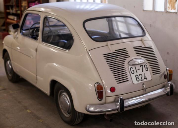 Coches: EXCELENTE SEAT 600 D DE 1968. TODO ORIGINAL, NUNCA RESTAURADO,LEER MÁS ... - Foto 8 - 131485362