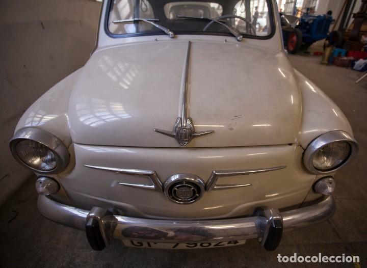 Coches: EXCELENTE SEAT 600 D DE 1968. TODO ORIGINAL, NUNCA RESTAURADO,LEER MÁS ... - Foto 9 - 131485362
