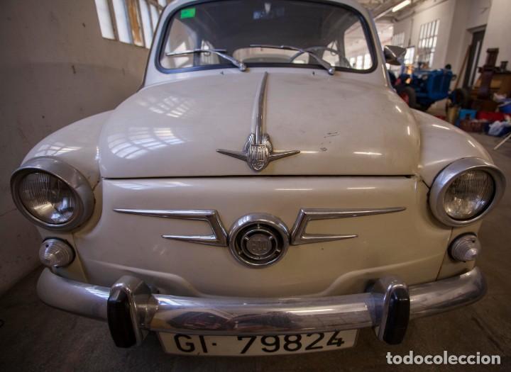 Coches: EXCELENTE SEAT 600 D DE 1968. TODO ORIGINAL, NUNCA RESTAURADO,LEER MÁS ... - Foto 10 - 131485362