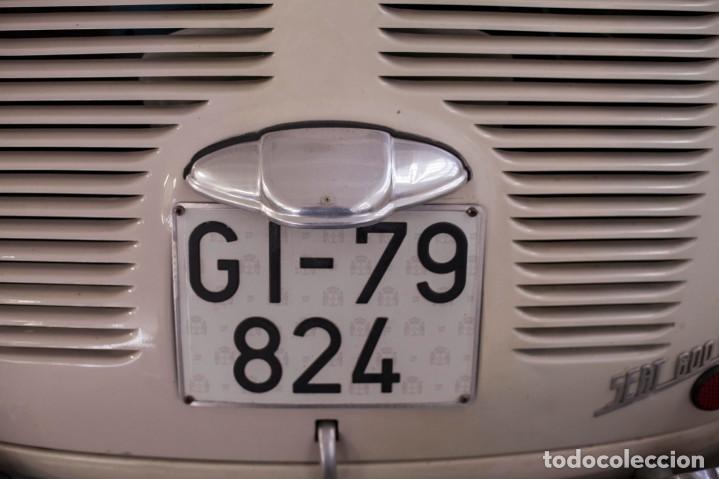 Coches: EXCELENTE SEAT 600 D DE 1968. TODO ORIGINAL, NUNCA RESTAURADO,LEER MÁS ... - Foto 11 - 131485362