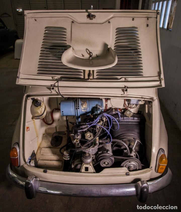 Coches: EXCELENTE SEAT 600 D DE 1968. TODO ORIGINAL, NUNCA RESTAURADO,LEER MÁS ... - Foto 15 - 131485362
