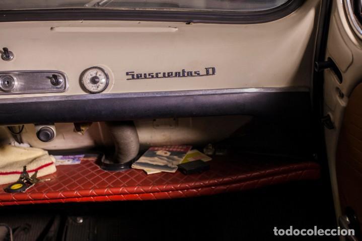 Coches: EXCELENTE SEAT 600 D DE 1968. TODO ORIGINAL, NUNCA RESTAURADO,LEER MÁS ... - Foto 21 - 131485362