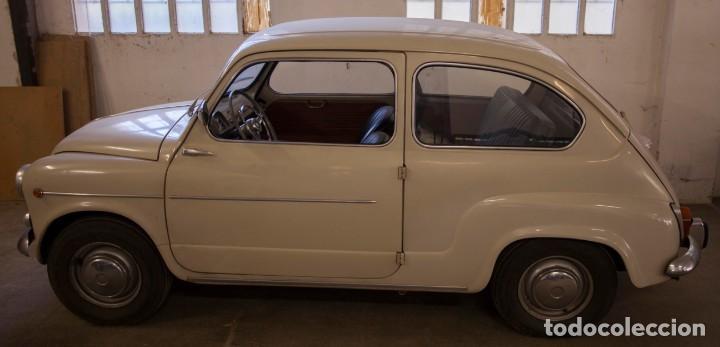 Coches: EXCELENTE SEAT 600 D DE 1968. TODO ORIGINAL, NUNCA RESTAURADO,LEER MÁS ... - Foto 24 - 131485362