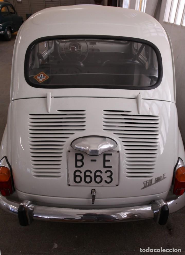 Coches: IMPECABLE SEAT 600 E DE 1972. RESTAURADO POR PROFESIONALES ,LEER MÁS ... - Foto 8 - 131488070