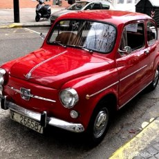 Coches: IMPECABLE SEAT 600E AÑO 1970 -DOCUMENTACION E ITV- RESTAURADO ORIGINAL PERFECTO 600. Lote 151005466