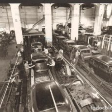 Coches: FORD 40 NISSAN MOTOR IBERICA PRODUCCIÓN BARCELONA 1934 FOTO ORIGINAL 23X18 CM. Lote 151519126
