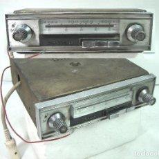 Coches: AUTO RADIO CLASICO -DE WALD 3000 -AUTORADIO-SPAIN 1969-DEWALD CASSETTE-COCHE CLASICO-AUTO. Lote 159786934