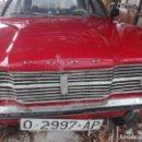Coches: AUTOMÓVIL FORD CORTINA 1300 MATRICULADO AÑO 1971. Lote 160963518