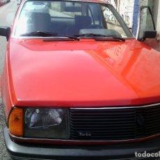 Coches: COCHE RENAULT 18 TURBO 1984 1560 CC 125CV 79000KM ITV NO ESCALA. Lote 146444274