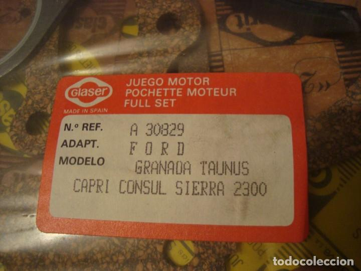 Coches: juego motor ford granada , capri consul sierra 2300 , ver referencia en foto . nuevo - Foto 2 - 162513514