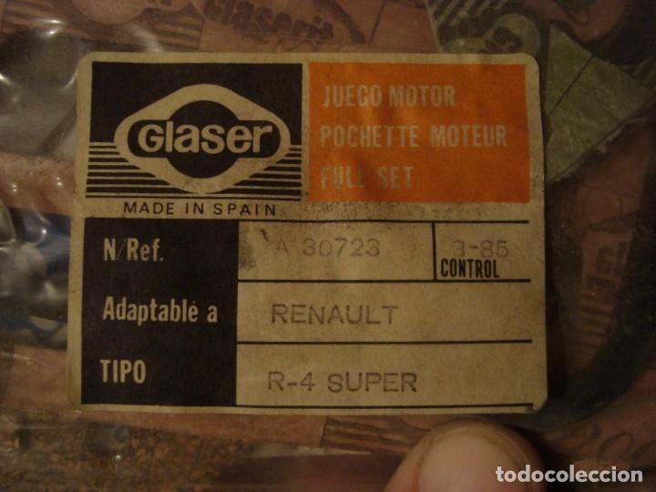 Coches: juego motor renault 4 super ver referencia en foto nuevo - Foto 2 - 162514758
