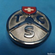 Coches: ANTIGUO EMBLEMA DE COCHE T C S TOURING CLUB SUISSE , BADGE SIN USAR. Lote 165227964