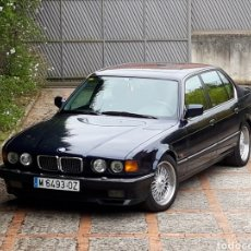 Coches: BMW E32 SERIE 7 750 750I 750IL 5.0 V12 ES UN 750IL HIGHLINE SOLO 5000 US MOVILNORTE MADRID. Lote 111990828