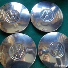 Coches: LOTE 4 TAPACUBOS VOLKSWAGEN 14 CM. Lote 167687924