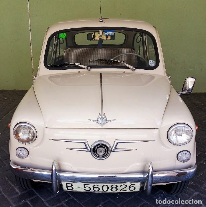 COCHE CLASICO - SEAT 600 D MIRABRAGAS - AÑO 1967 (Coches y Motocicletas - Coches Clásicos (a partir de 1.940))