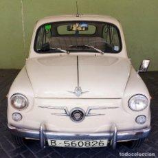 Coches: COCHE CLASICO - SEAT 600 D MIRABRAGAS - AÑO 1967. Lote 170969002