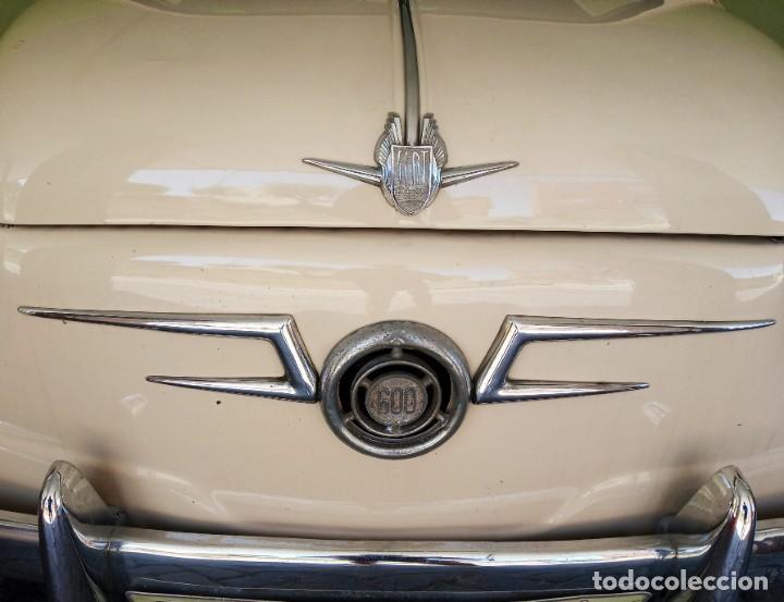 Coches: COCHE CLASICO - SEAT 600 D MIRABRAGAS - AÑO 1967 - Foto 5 - 170969002