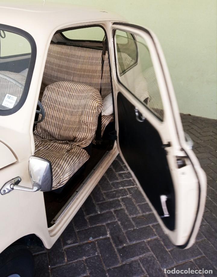 Coches: COCHE CLASICO - SEAT 600 D MIRABRAGAS - AÑO 1967 - Foto 10 - 170969002