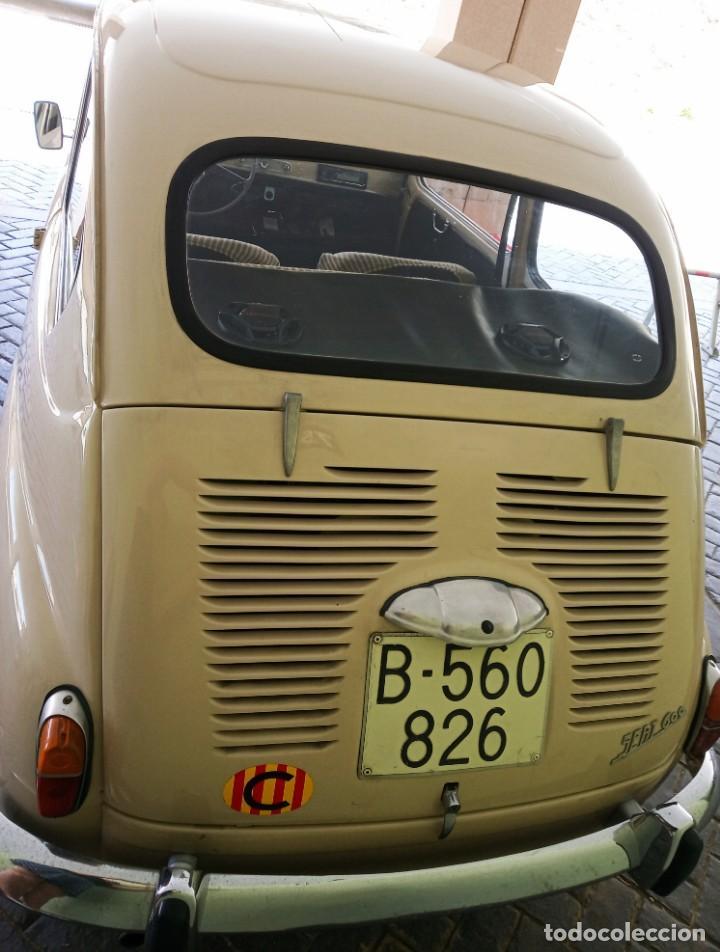 Coches: COCHE CLASICO - SEAT 600 D MIRABRAGAS - AÑO 1967 - Foto 12 - 170969002