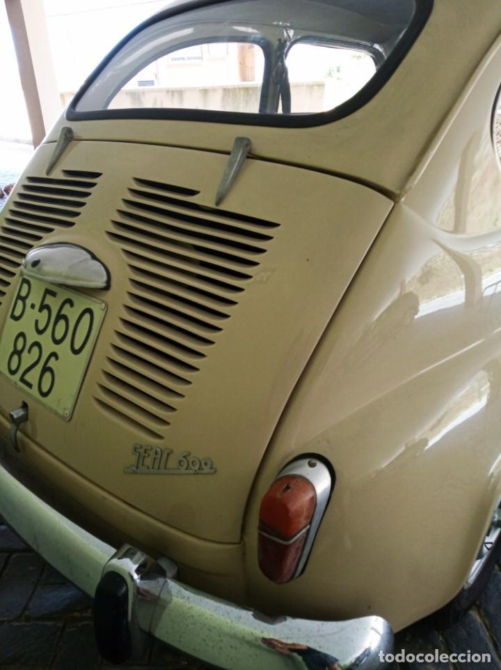 Coches: COCHE CLASICO - SEAT 600 D MIRABRAGAS - AÑO 1967 - Foto 13 - 170969002