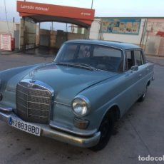 Coches: MERCEDES-BENZ 200 D COLAS. Lote 172766955