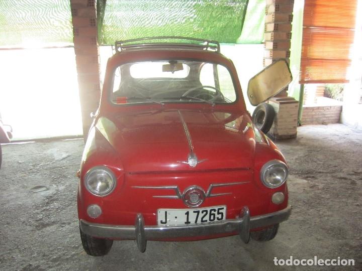Coches: SEAT 600 CLASICO DEL 1961 DE LOS PRIMEROS SE ACEPTAN OFERTAS RAZONABLES MEJOR VER - Foto 2 - 175536888