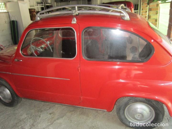 Coches: SEAT 600 CLASICO DEL 1961 DE LOS PRIMEROS SE ACEPTAN OFERTAS RAZONABLES MEJOR VER - Foto 4 - 175536888