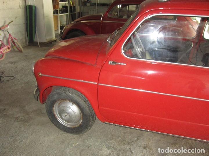 Coches: SEAT 600 CLASICO DEL 1961 DE LOS PRIMEROS SE ACEPTAN OFERTAS RAZONABLES MEJOR VER - Foto 5 - 175536888