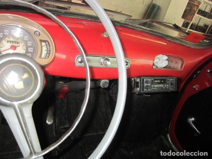 Coches: SEAT 600 CLASICO DEL 1961 DE LOS PRIMEROS SE ACEPTAN OFERTAS RAZONABLES MEJOR VER - Foto 7 - 175536888