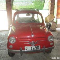 Coches: SEAT 600 CLASICO DEL 1961 DE LOS PRIMEROS SE ACEPTAN OFERTAS RAZONABLES MEJOR VER. Lote 175536888