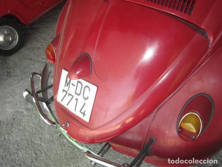 Coches: VOLKSWAGEN CLASICO ESCARABAJO BEETLE DEL 1961 DE LOS PRIMEROS SE ACEPTAN OFERTAS RAZONABLES - Foto 7 - 175537093