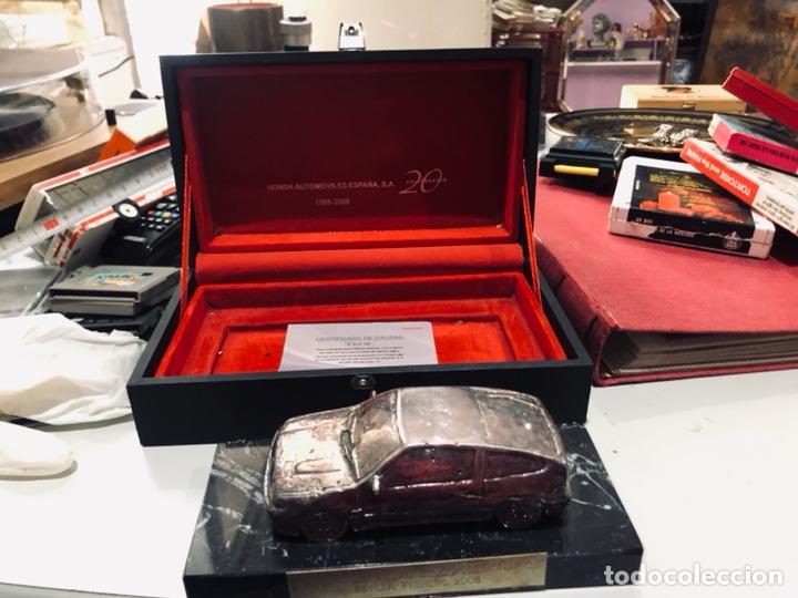 Coches: Alta colección- coche certificado de calidad de bronce con 2 baños de plata de ley - serie limitada - Foto 7 - 178113767