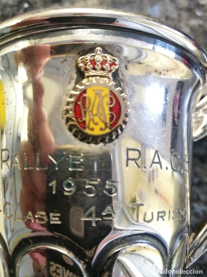 Coches: Copa primero en clase turismo, III Rallye R.A.C.E. 1955 - Foto 3 - 178214895