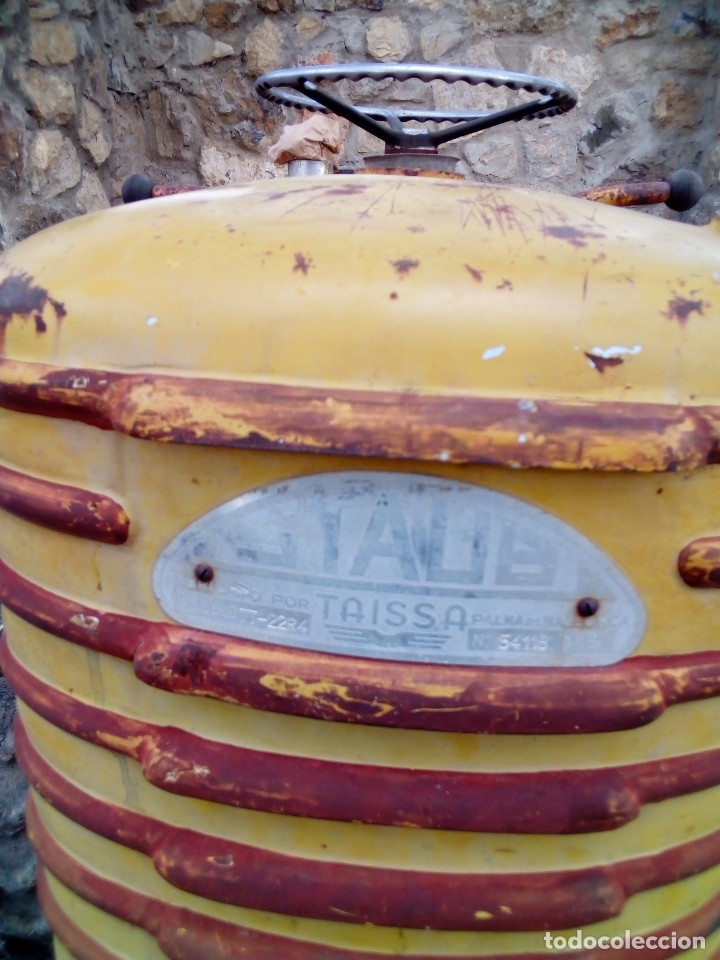 Coches: tractor taissa para restaurar - Foto 3 - 180212632