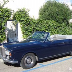 Coches: ROLLS ROYCE SILVER SHADOW DHC AÑO 1970. 98000 KMS. Lote 181669552