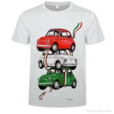 Coches: CAMISETA FIAT 500. Lote 184595325