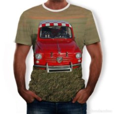 Coches: CAMISETA SEAT 600 ABARTH. Lote 185706185