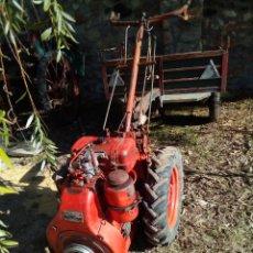Coches: MOTOCULTOR PASCUALI DE 14 CV CON REMOLQUE EN MUY BUEN ESTADO. Lote 186314035