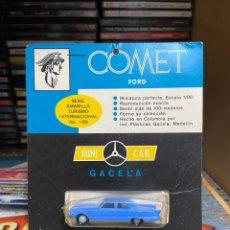 Coches: FORD COMET MINI CAR GACELA ESCALA 1/86 COLOMBIA -ESPAÑA 1960. Lote 197785597