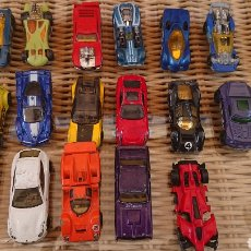 Coches: LOTE DE COCHES HOT WHEELS Y MATTEL. Lote 222222113