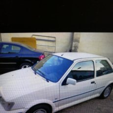 Coches: COCHE FORD FIESTA XR2I. Lote 221477120