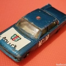 Coches: FORD FAIRLANE, POLICE CAR, MADE IN ENGLAND BY LESNEY N°55,AÑOS 50-60. Lote 229440550