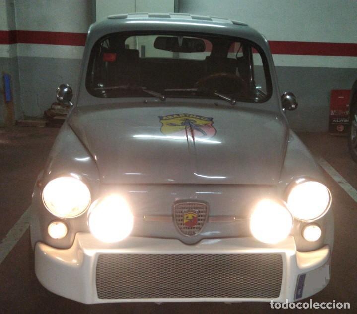 ESPECTACULAR ANTIGUO COCHE SEAT 600 ORIGINAL, CARROCERIA ABARTH. CLÁSICO ESPAÑOL (Coches y Motocicletas - Coches Clásicos (a partir de 1.940))