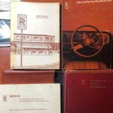 Carros: MANUAL USUARIO ROLLS-ROYCE SILVER SHADOW. Lote 265802079