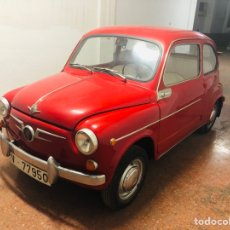 Coches: SEAT 600 NORMAL. Lote 272081803