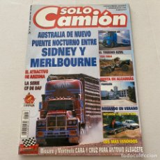 Coches: REVISTA SOLO CAMIÓN NÚMERO 102 DE 1998 MINI TRUCK RENAULT KANGOO-SCANIA-RENAULT MAGNUM. Lote 277459218