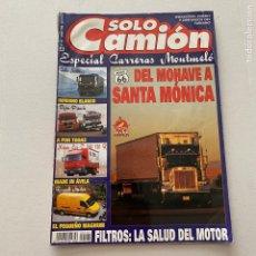Coches: REVISTA SOLO CAMIÓN NÚMERO 101 DE 1998 FURGON RENAULT MASTER-NISSAN ECO T TRUCK. Lote 277459358