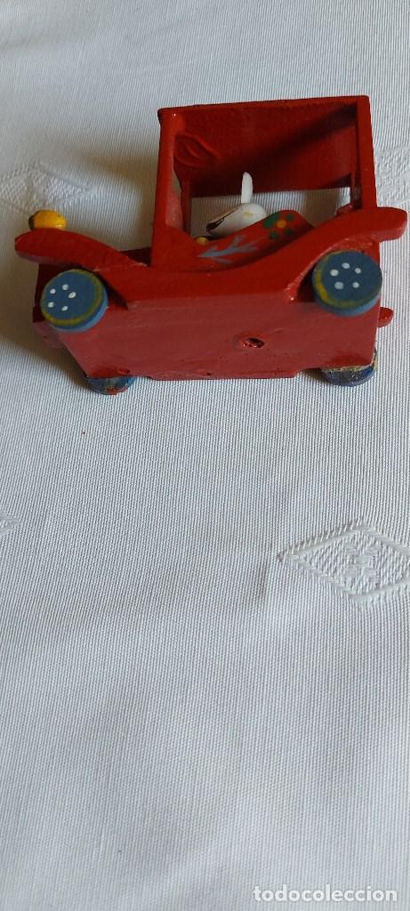 Coches: Coche miniatura de madera - Foto 3 - 277852263