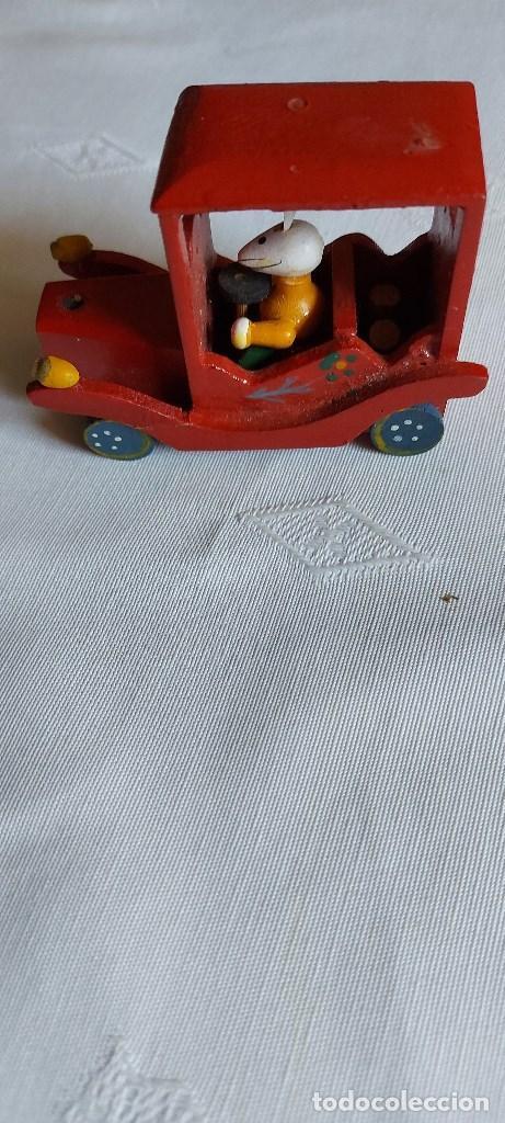 Coches: Coche miniatura de madera - Foto 4 - 277852263